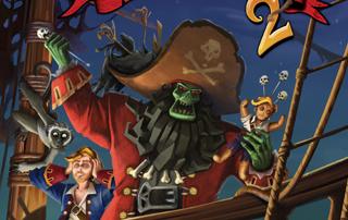 (Fast) ein Pirat und ein Geisterpirat kämpfen in der Südsee mit allen Mitteln und schrechen auch vor dem einsatz von Voodoo nicht zurück.