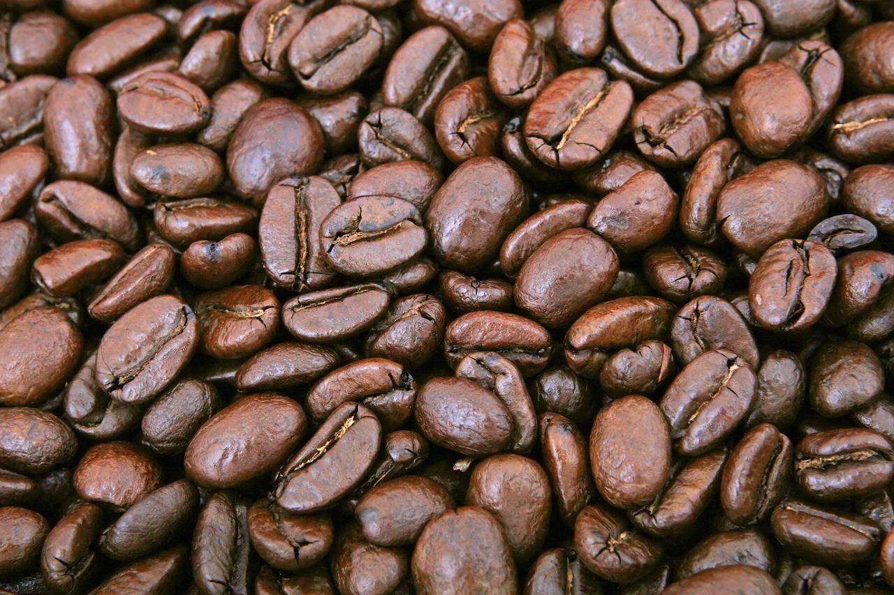 Geröstet Kaffeebohnen aus Java