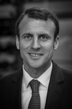 Ein Bild von Emmanuel Macron